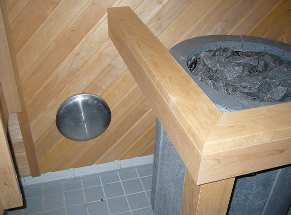 sauna tuloilmaventtiili