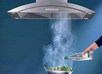 Вытяжка на кухне нужна