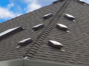 Вентиляция крыши из черепицы