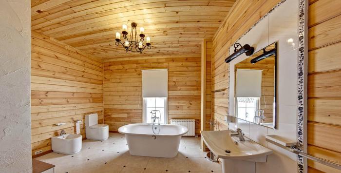 В деревянных строениях требования к вентиляции очень жесткие
