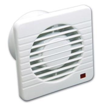 Простейший способ принудительной вентиляции в ванной комнате – установка вентилятора