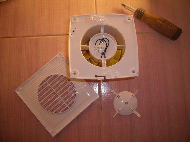 Обычный настенный осевой вентилятор не составляет труда поставить самостоятельно