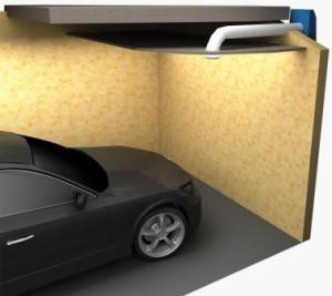 Поступление свежего воздуха в гараж