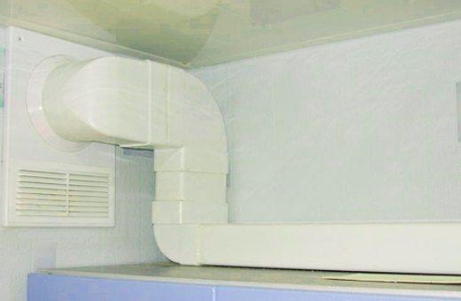 Пластиковая вентиляция используется, как правило, в частном строительстве