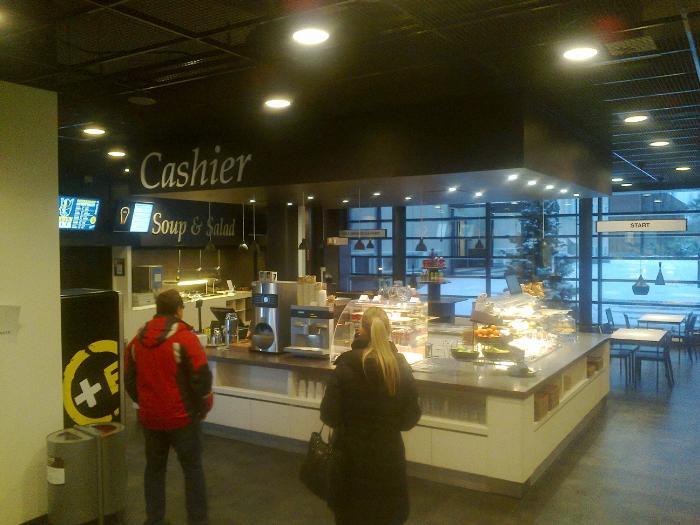 Вентиляция кафе, фотограрафия сделана автором статьи в Финляндии 2014 год
