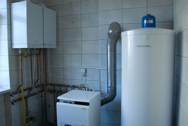 вытяжная вентиляция в котельной с газовым котлом