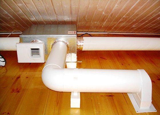 Вентиляционные каналы многоквартирного дома