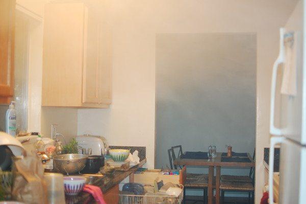 Дымовая завеса на кухне из-за слабой вытяжки