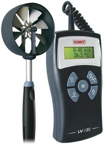 Анемометр позволит измерить основные характеристики вентиляции