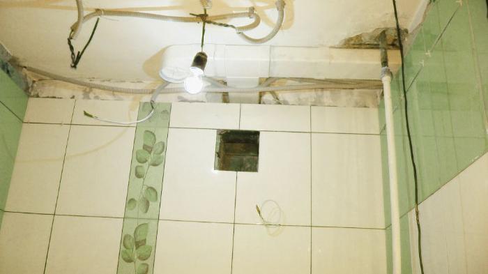 Воздуховод для санузла