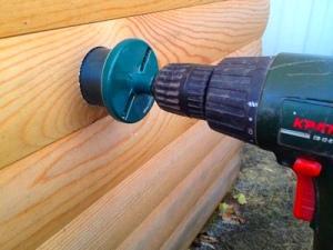 Отверстие под трубу вентиляционной системы
