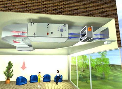 Система подачи приточного воздуха в квартире