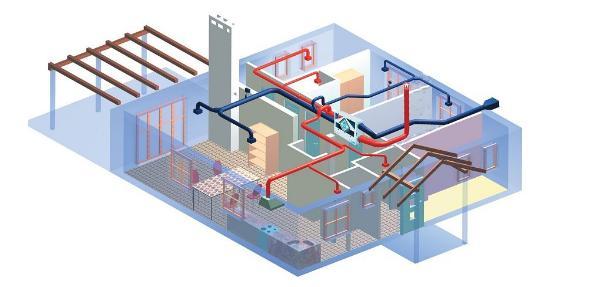 Централизованная система вентиляции