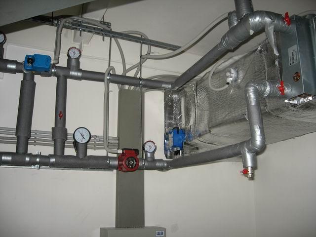Узел обвязки калорифера является важным элементом вентиляционной системы