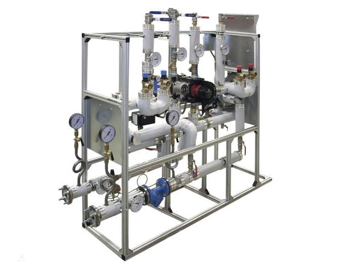 Все элементы обвязки калорифера нужны только для регуляции температуры и для защиты прибора от скачков давления