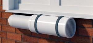 Приточно-вытяжная вентиляция на балконе
