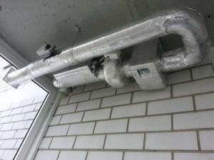 Система приточной вентиляции на лоджии