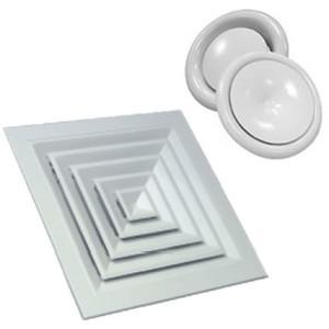 Вентиляционная решетка и диффузор