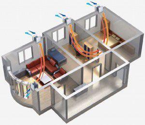 Схема жилого помещения