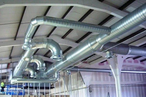 Канальная система вентилирования