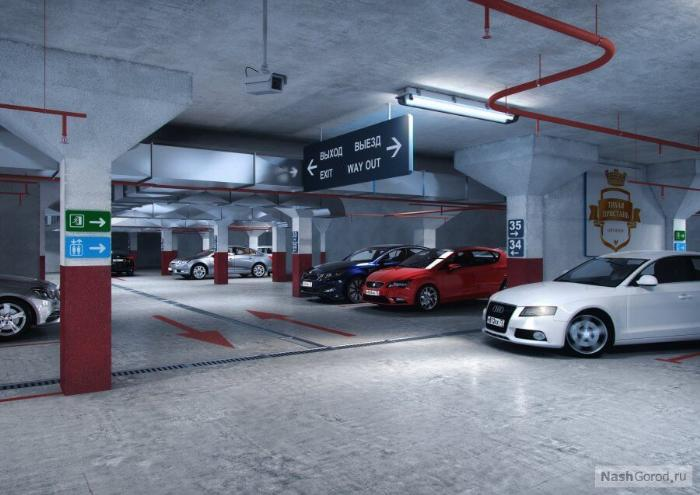 Вентиляция подземной парковки