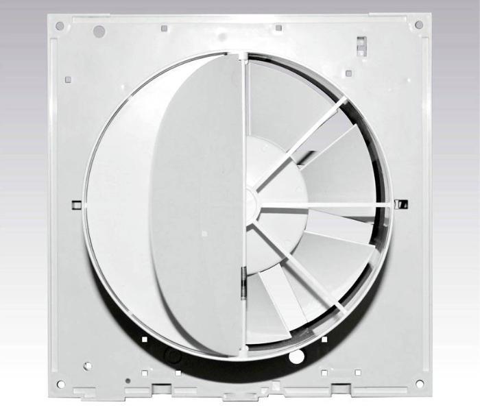 Пластиковый обратный клапан с вентилятором