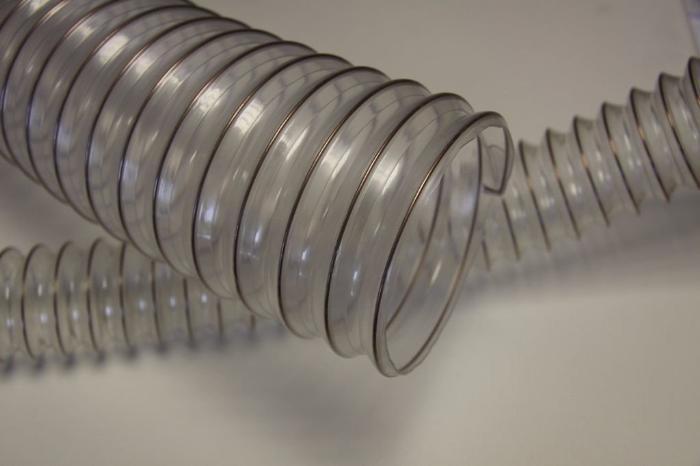 Гофрированная пластиковая труба