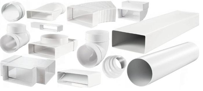 Разновидности воздуховодов из пластика