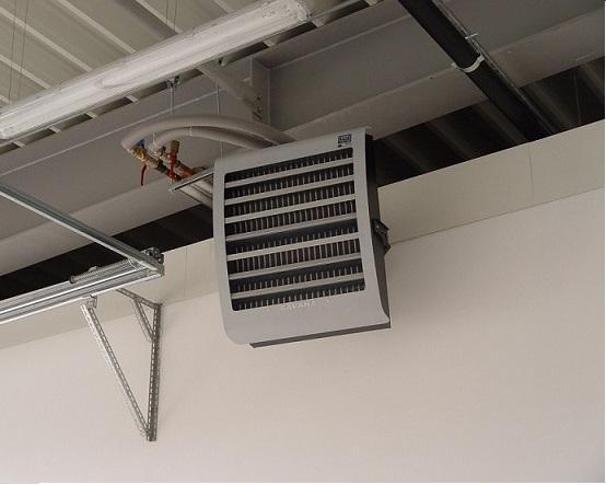 промышленный тепловентилятор