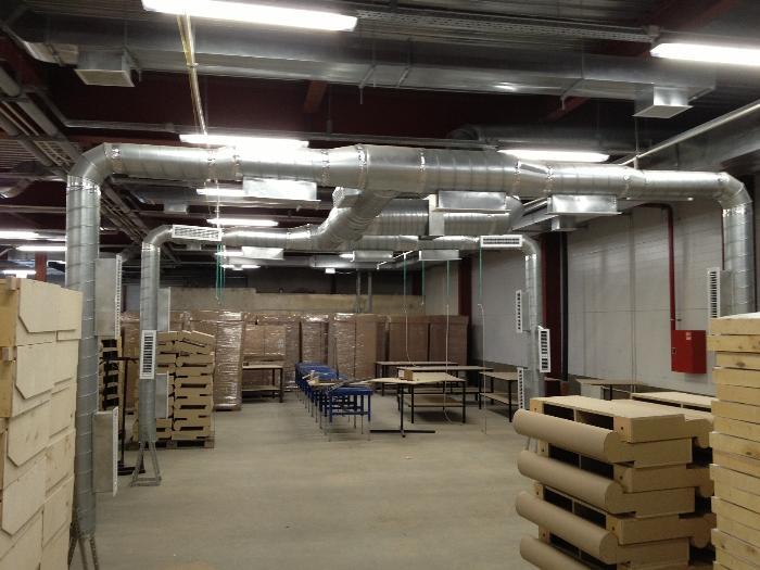 Вентиляция складских помещений проектирование монтаж