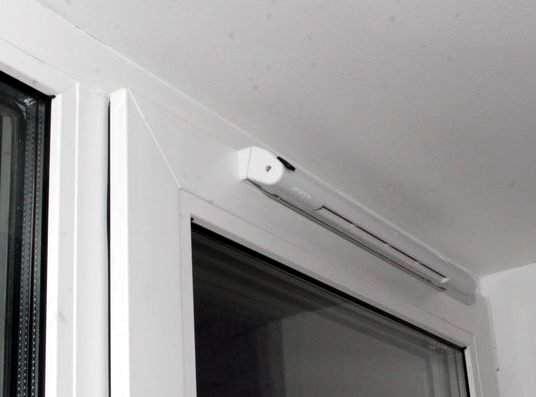 стеклопакет с клапаном вентиляции