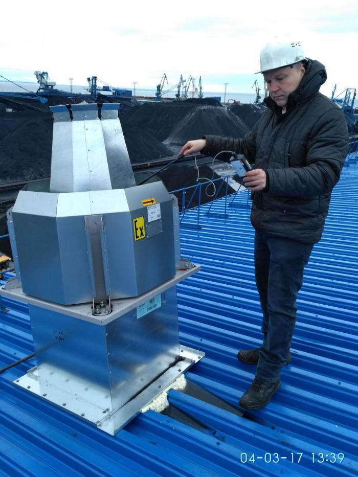 Обследование промышленной вентиляции