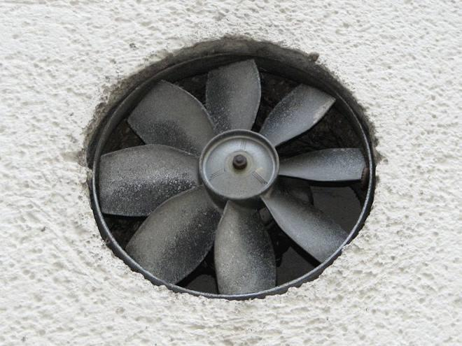 Добавляем вытяжной вентилятор