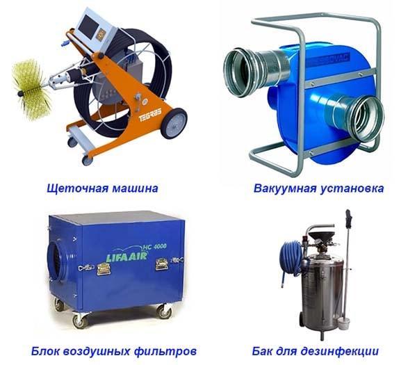Комплект очистительного оборудования