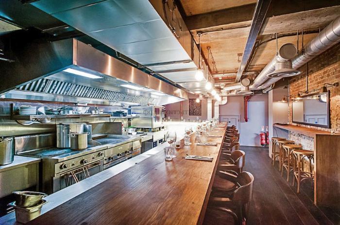Приточно-вытяжная вентиляция в кафе и ресторане