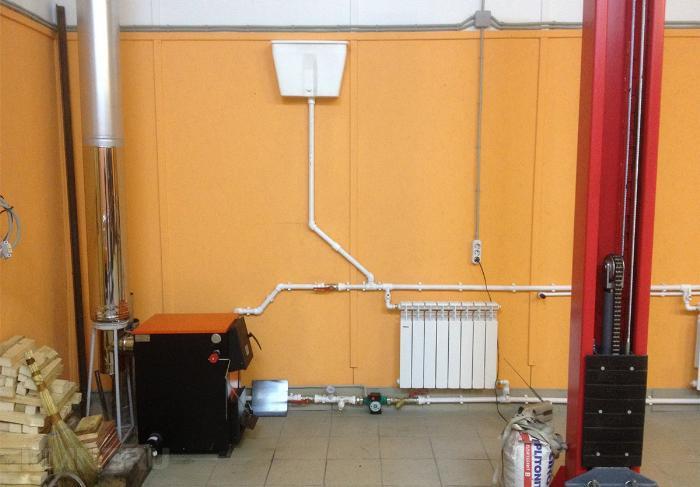 Индивидуальная система отопления гаража