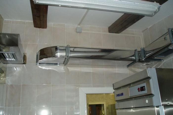 отводы в вентиляцию для кухни