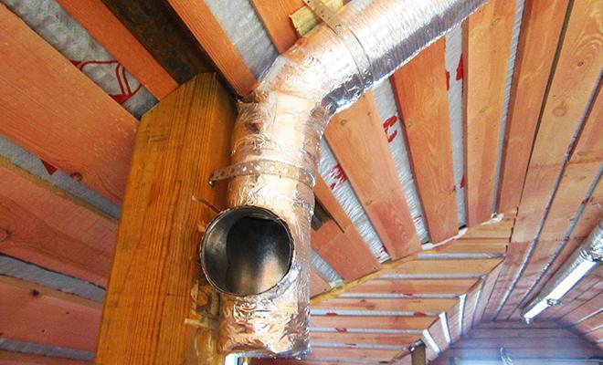 Естественная вент труба