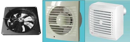 принудительная вентиляция вентилятор