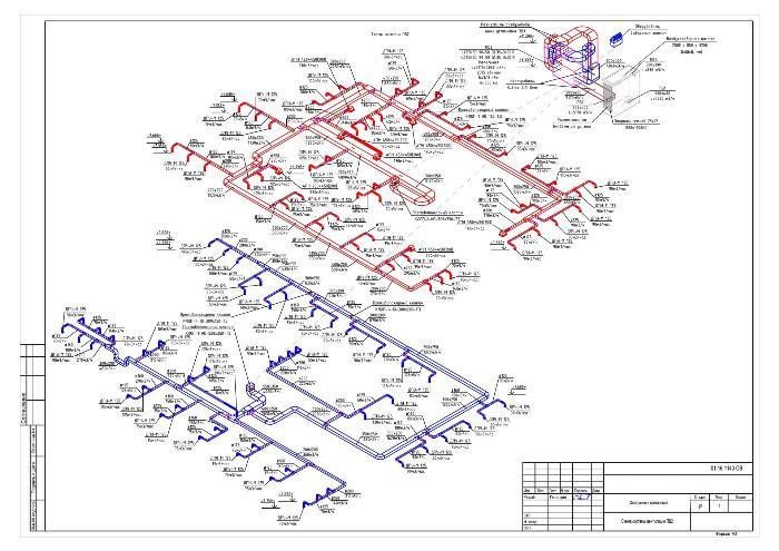 Схема систем вентиляции пример