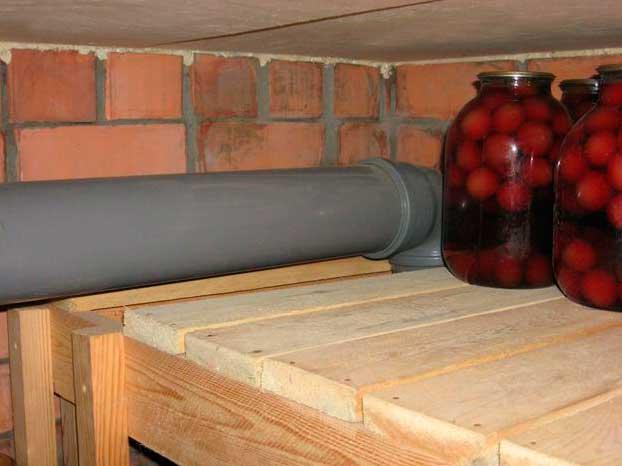 Как правильно сделать вентиляцию в погребе