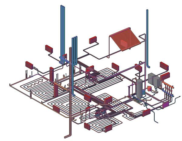 План инженерных коммуникаций составляется, как правило, еще до начала строительства.