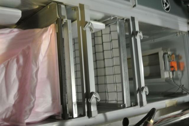 Фильтры в механической вентиляции.