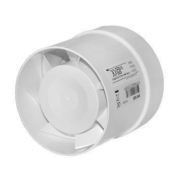 Канальный вентилятор обеспечивает стабильный расход воздуха вне зависимости от погоды.
