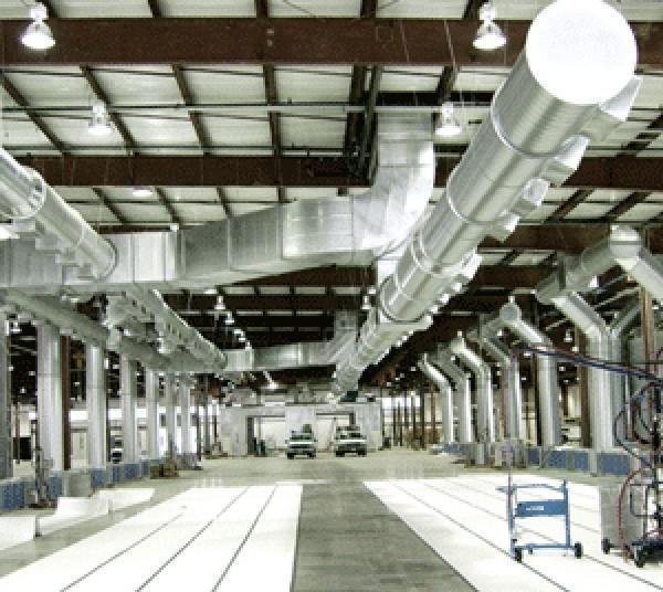 Как работает вентиляция на производстве