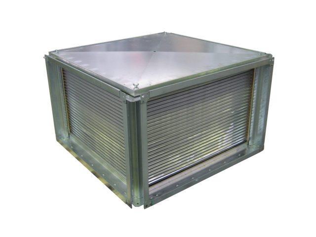 Пластинчатый рекуператор алюминиевый