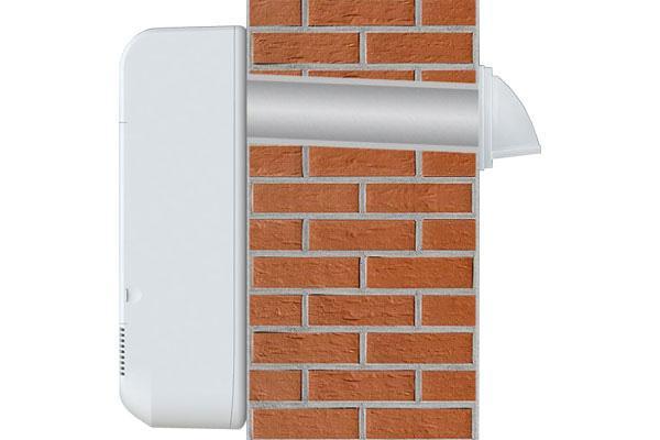 Монтаж настенных вентиляционных систем
