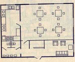 План кухни на производстве