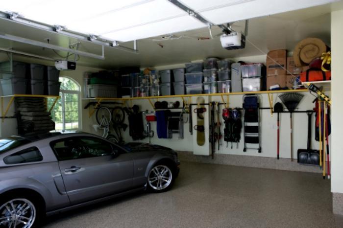 гараж с вентиляцией
