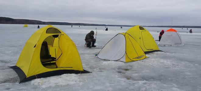 Какую выбрать палатку для зимней рыбалки